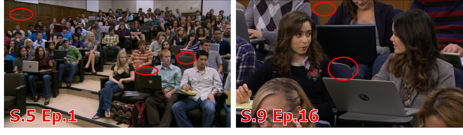 a side by side look at how i met your mother s excellent use of